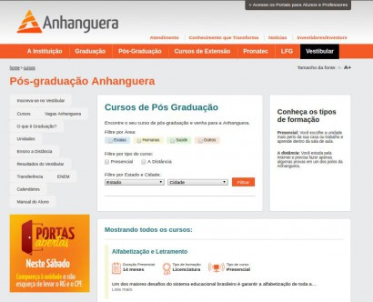 Anhanguera educational